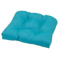 Outdoor Tufted Seat Cushion - Threshold™ : Target
