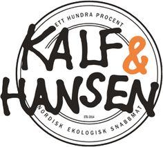 Kalf & Hansen vid Mariatorget. Ekologisk snabbmat till bra pris - mums!