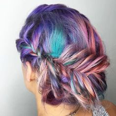 19 Fishtail Hairstyles for that hip look  Hairstyle Monkey Holiday Hairstyles, Indian Hairstyles, Girl Hairstyles, Pastel Hair, Pink Hair, Vegas Hair, Grunge, Fishtail Hairstyles, Indie