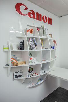 Canon Showroom Konzeption & Realisation