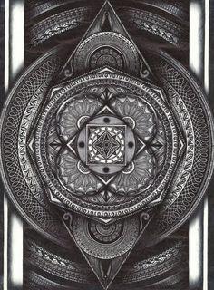 zzpsiconautazz:  Mandala 02by AlexOwla.