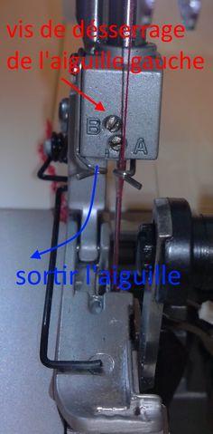 Ourlet roulotté à la surjeteuse | Lily Violette                                                                                                                                                                                 Plus Techniques Couture, Sewing Techniques, Learn To Sew, Fabric, Espadrilles, Crochet, Tutorial Sewing, Couture Facile, Sewing Lessons