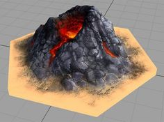 Catan_volcano_hex by tedparsec'