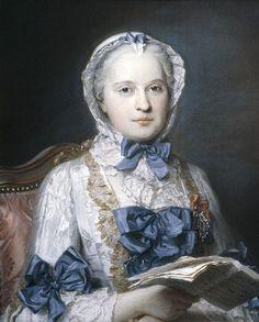 Maurice Quentin de La Tour, Marie-Josèphe de Saxe, Dauphine of France (1749)