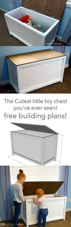 toy chest building plans