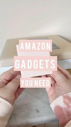 Amazon Hacks, Amazon Gadgets, Cool Gadgets To Buy, Home Gadgets, Tech Gadgets, Kitchen Gadgets, Best Amazon Buys, Best Amazon Products, Teen Life Hacks
