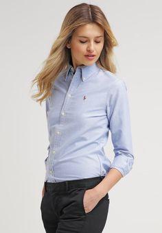 Polo Ralph Lauren HARPER - Skjortebluser - blue - Zalando.dk
