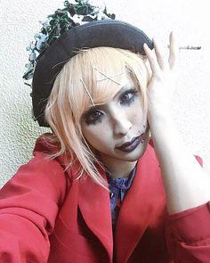 Yutori ☆ Pentagon #yutori #pentagon #guitarist #makeup #asian #japanese #cute #jrock #visualkei #vkei #v系
