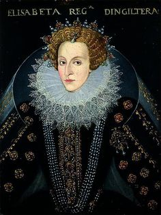 Queen Elizabeth I, c.1592.  Circle of John Bettes the Elder.  Temple Newsam House.