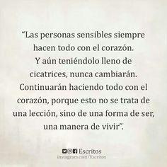 #escritos #pensamientos #sensible