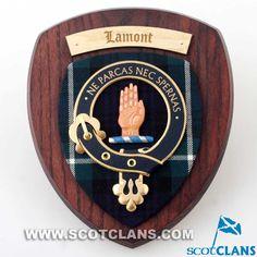 Lamont Clan Crest Pl