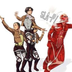 """A Slap On Titan"" 