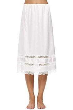 Avidlove Women Lingerie Slips Satin Snip-it Half Slip Lace Underskirt ** MORE INFO @ http://lingerie4everyone.com/store/avidlove-women-lingerie-slips-satin-snip-it-half-slip-lace-underskirt/?b=2541
