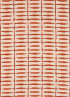 Shibori  Chilli/Linen fabric by Scion