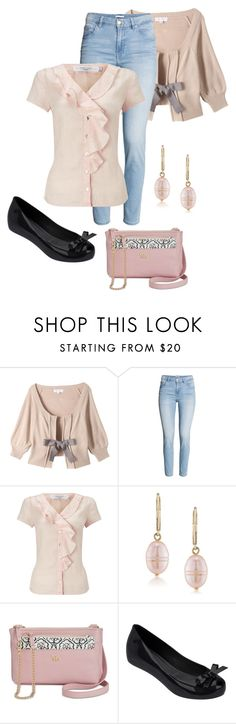 """Untitled #3640"" by rkdk1101 ❤ liked on Polyvore featuring John Lewis, Carolee, Emma Fox and Melissa"