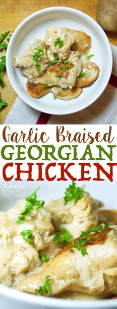 Rich garlic aromas mingle with delicate creamy milk in this simple, yet hearty dish - Georgian chicken is a classic for a reason! Gluten free, dairy free