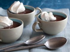 Chocolate Pudding Recipe : Tyler Florence : Food Network - FoodNetwork.com