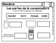 Computer Exam, Computer Lab Lessons, Computer Lab Classroom, Kids Computer, Computer Teacher, Technology Lessons, Computer Basics, Class Teacher, Teacher Hacks