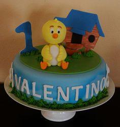 pastel pollito amarillito - Buscar con Google