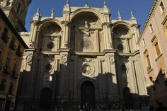 Granada, España. Many nights of drinking vino tinto on the steps of this cathedral!