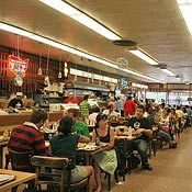 katz deli: 205 E. Houston St. When Harry Met Sally dinor also carves all its pastrami and corned beef by hand.