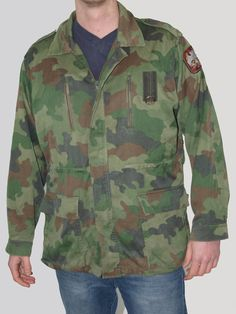 DESERT CAMO COMBAT PADDED JACKET boys 3-4 British army camouflage soldier coat