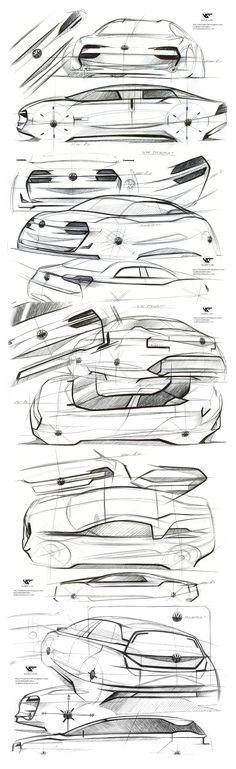 Concept Volkswagen Passat by Vladimir Schitt.