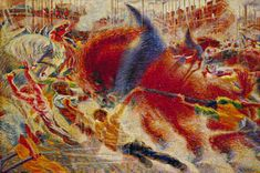 The City Rises By Umberto Boccioni - Famous Art - Handmade Oil Painting On Canvas — Canvas Paintings Museum Of Modern Art, Art Museum, Futurist Painting, Canvas Art Prints, Oil On Canvas, Canvas Paintings, Art Manifesto, Umberto Boccioni, Italian Futurism