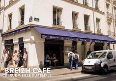 O melhor crepe de Paris