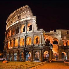 Because the way the Colosseum lights up at night. | 39 Reasons Studying Abroad In Italy Ruins You For Life