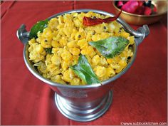 Navarathri Sundal Recipes | Gram Dhal Sundal | Subbus Kitchen