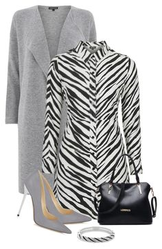 """Animal Prints"" by soleuza ❤ liked on Polyvore featuring Warehouse, Topshop, Jimmy Choo and Bling Jewelry"