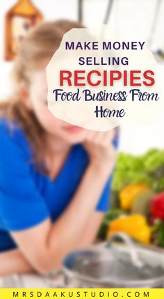If you love to cook and experiment with recipes, then you can start your won cooking business from home and sell your recipes to make money online. grab the list of different legitimate ways to make money with food. #makemoneywithfood #makemoneysellingrecipes #workfromhomejobs Online Writing Jobs, Freelance Writing Jobs, Online Jobs, Free Money Now, Way To Make Money, Work From Home Opportunities, Work From Home Jobs, Earn Money Online Fast, Writing Portfolio