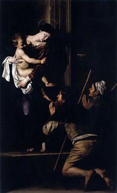 Caravaggio - Madonna di Loreto, 1603-05