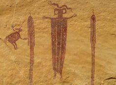 San Rafael Swell Head of Sinbad Rock Art
