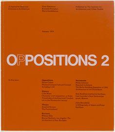 Massimo Vignelli, Lella Vignelli. OPPOSITIONS 2. 1974