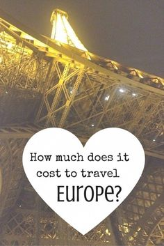 How much does it cost to Travel Europe? From Eastern Europe to Western Europe, we break it down for you here. Our guide to things to do in where to eat, where to stay, how to get here and around in Europe.