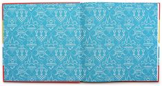 Endpapers for Where's Walrus by Stephen Savage.