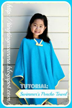 TingTingMamMa: Tutorial: Swimmer's Poncho Towel