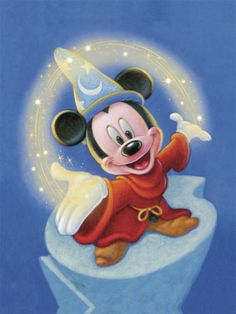 Sorcerer Mickey: Fantasia...This is my tattoo half back...