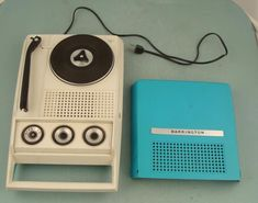 I had a portable record player in the 60's..not a barrington..but it looked similar..it was pink..and I think it was called a swinger..does anyone remember these??