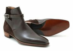 High Ankle Boots, Ankle Shoes, Shoe Boots, Shoes Men, Men's Shoes, Hot Shoes, Suede Leather Shoes, Leather Men, Brown Leather