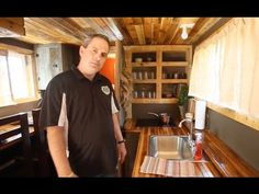 Tiny House Made from Repurposed Farm Materials - YouTube