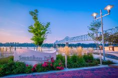 Smothers Park at the Bridge Owensboro, Kentucky