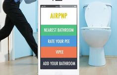 Find Clean Restrooms For $5 Per Visit With Airpnp -  [Click on Image Or Source on Top to See Full News]