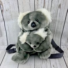 Koala Bear And Baby Back Pack Girls Ladies Women's Bag Travel School Holiday WOW School Holidays, Sacks, Girls Accessories, My Ebay, Travel Bags, Teddy Bear, Backpacks, Children, Lady