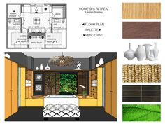 A home spa room from the Clarisonic Spa of Tomorrow contest! Enter your dream room win 15K to make it happen - designers and non designers welcome