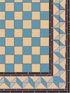 Blue Victorian Floor Tiles