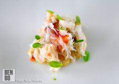 Buey con verdolaga. Mar y huerta son la esencia de la cocina de Culler de Pau.