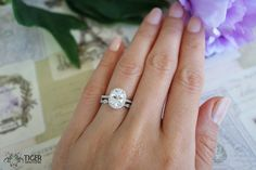1.5 Carat, Oval Halo Engagement Ring, Vintage, D Color Man Made Diamond Simulants, Art Deco, Wedding, Bridal, Promise Ring, Sterling Silver by TigerGemstones on Etsy https://www.etsy.com/listing/212517206/15-carat-oval-halo-engagement-ring